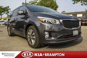 2018 Kia Sedona SX+. DEMO. 7-SEATER. BACKUP CAM. CRUISE CTRL