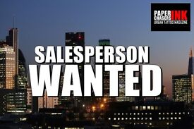 Media sales person wanted for magazine