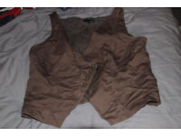 smart Next double breasted waistcoat. Size 18