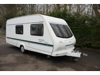 Elddis Typhoon XL 2000 4 Berth Caravan + Motor Movers + Sun Canopy