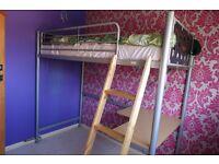 High Sleeper..Loft Bed.. Great Condition..Single..Desk... Unisex