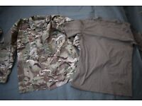 Issued UK forces MTP PCS Combat Jacket (shirt) + Free Tshirt