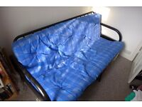 Metal sofa bed futon with mattress