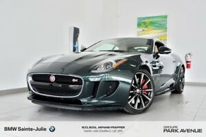 2016 Jaguar F-TYPE F-TYPE S, Garantie 160 000km, Super Performan