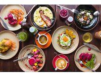 Senior Chef De Partie - Brunch restaurant - daytime hours - inventive Australian cuisine