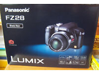 Panasonic Lumix FZ28 Digital Camera boxed as new.
