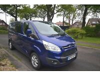 FORD TRANSIT CUSTOM CAB IN VAN 2.2 TDCI 155PS LWB LIMITED NO VAT