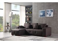 CORNER SOFA MANHATTAN, ONLY £599 BIG SAVINGS, FREE COFFEE TABLE INCLUDED, DON'T MISS LIMITED OFFER