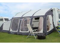Outdoor Revolution Sport Air 400 Inflatable Awning with Annex, Carpets and extras
