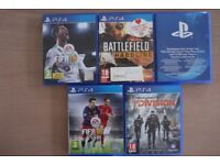 GAMES FOR PS 4