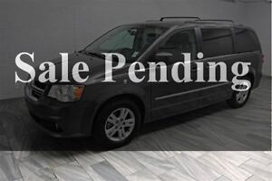 2016 Dodge Grand Caravan CREW! LEATHER! DUAL DVD! HEATED STEERIN
