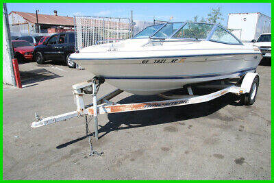 (C) 1994 Sea Ray Signature 16' Fish and Ski Boat w/ Tow Trailer NO RESERVE