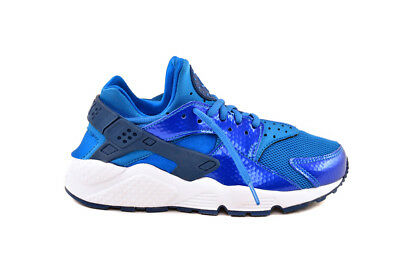 Nike Women's Air Huarache Run Scarpe da ginnastica Blue Spark UK 2.5 RRP 95 BCF81