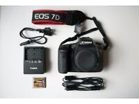 CANON EOS 7D + 16gb CF Card For Sale - only 5200 actuations