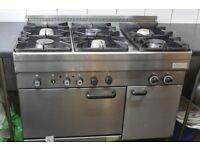 Commercial Cooker - 6 burner