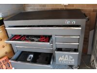 MAC TOOLS 11 Drawer Tool Chest in excellent condition