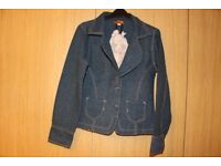 Ladies Jeans style jacket by Pure