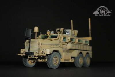 U.S. Cougar 6x6 MRAP Vehicle 1:35 Pro Built Model