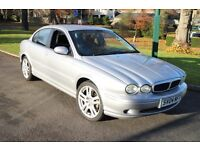 JAGUAR X-TYPE V6 SPORT 1/2 LEATHER 85k FSH VGC *REDUCED TO £695* SPARES or REPAIR? BASED ON MONDEO