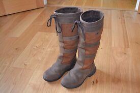 Ladies Dublin Boots Size UK4 Excellent Condition.