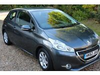 Peugeot 208, 1.2L 2013/62 Plate, Excellent condition, MOT until October 2017