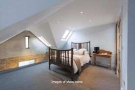 Warehouse conversion, 3 or 4 bed, private mews