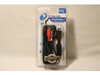 PS2 S-Video Cable PlayStation 2. Boxed. Unused.