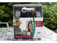 LOGITECH QUICKCAM FUSION FOR PC/MAC- HIGH-END PROFESSIONAL WEBCAM WITH BUILT-IN MIC