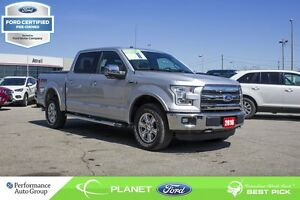 2016 Ford F-150 Lariat FORD CERTIFIED LOW RATES & EXTRA WARRANTY