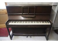 Squire and Longson Piano complete but needing restoration