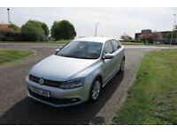 VOLKSWAGEN JETTA 1.6 LTD EDITION TDI BLUEMOTION TECHNOLOGY,2013,Alloys,Air Con,Sat Nav,DAB Radio,FSH