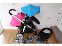 iCandy Apple 2 Pear single / double pram with carrycot CAN POST