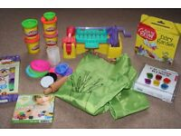 Art and craft bundle to suit child aged 3+ years includes Play-Doh barbeque play