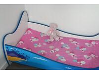 Children's bed 140cm x 70cm with mattress