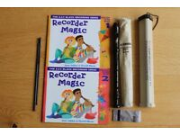 Recorder and books