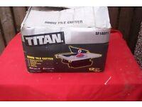 TITAN ELECTRIC TILE CUTTER