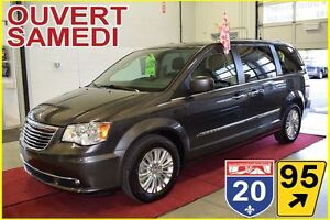 2016 Chrysler Town & Country LIMITED * TOIT * CUIR/SUEDE * DVD