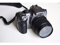 Canon EOS 300D with 18-55 mm kit lens