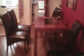 Table and 4_Chairs