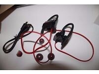 Bluetooth Stereo Headphones Sport - New - Never used