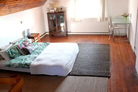 Very large double room for rent in a family house with stunning views
