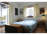 beautiful double room with balcony avail short term from jan til april 2018 only £575/month