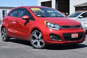 2013 Kia Rio 5 SX w/UVO | WINTER TIRES | LEATHER INT | SUNROOF