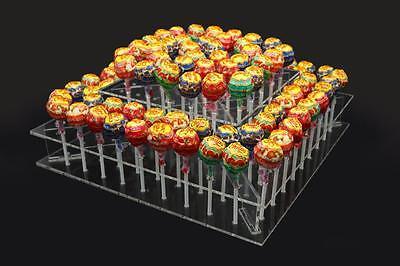 2-Tier DIY Clear Acrylic cake pop lollipop stand display party 100 - Cake Pop Holder Diy