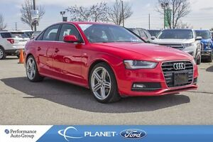 2015 Audi A4 2.0T|NAV|LEATHER|ROOF|CRUISE CTRL