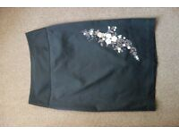 Next embroidered skirt uk size 10