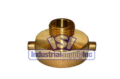 "Fire Hydrant Adapter 1-1/2"" NST(F) x 3/4"" GHT(M)"