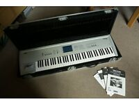 Korg Triton Pro 76 - Classic with EXB-PCM03 Sound board & Disk - Flight Case - Immaculate condition