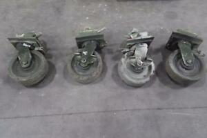 Container Castor Wheels set of 4