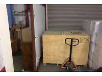 Sturdy Shipping Crate, 18mm plywood sides 164 x 126 x 123 cm